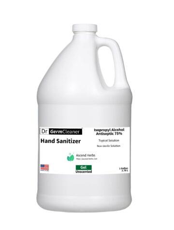 1 gallon DrGermCleaner HandSanitizer Gel Unscented