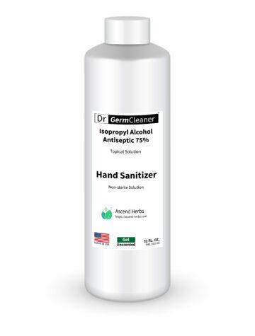 32oz DrGermCleaner Hand Sanitizer Gel Unscented