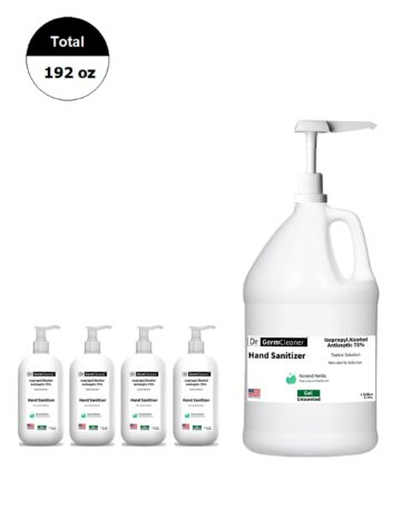 DrGermCleaner-OneGallonPump-Four16Oz-Bundle