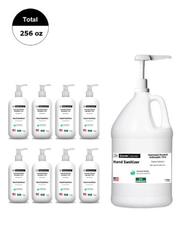 DrGermCleaner-OneGallonPump-Eight16Oz-Bundle