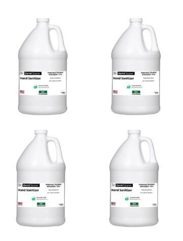 1 gallon DrGermCleaner Hand Sanitizer - 4-pack