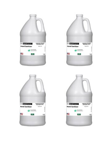 DrGermCleaner Gallon Gel Unscented 4-pack