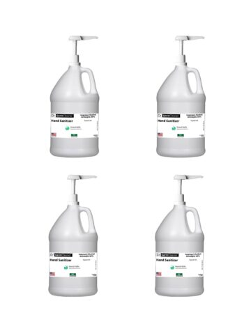 DrGermCleaner Gallon Gel Unscented 4 Gallons Pump