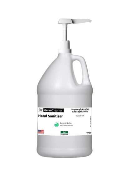 DrGermCleaner Gallon Gel Unscented Pump
