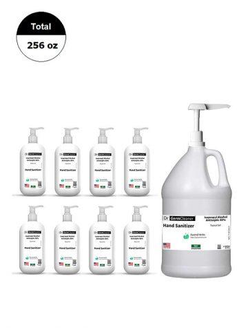 DrGermCleaner Gallon 1Gallon v2 8x16oz 80